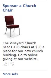 Sponsor chair